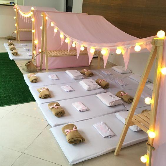 Tendas para festa infantil feminina